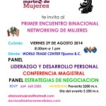 AMPM  Primer encuentro binacional networking de mujeres WTC Tijuana 29 agosto 2014